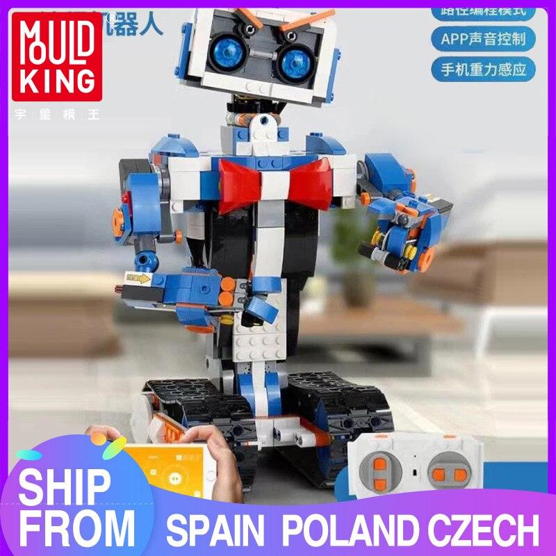 MOULD KING Idea intelligent programming Remote control robot Boost Kids Toys Model Building Bricks Blocks Kids Educational Toys